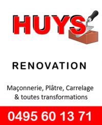 Huys renovation
